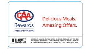 click here to learn about the ultimate dining card